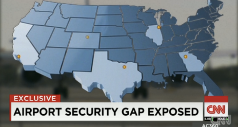 In my current internship with CNN, I worked on this story about airport security breaches. My role in the project included research, logging interviews and b-roll, choosing b-roll to use in the package and finding archival footage to use in the package.